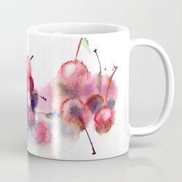 Cherry watercolor splash Coffee Mug