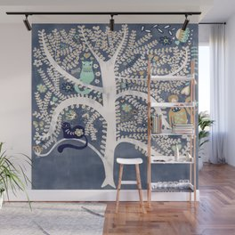 Cats in a Tree Wall Mural