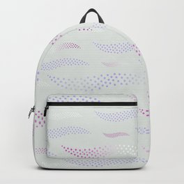 Waves / Tiger (stylized pattern) 20 Backpack