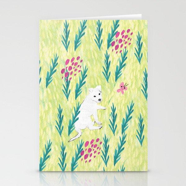 Sharkie - Lime Stationery Cards