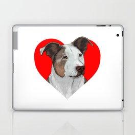 Pit Bull Heart Laptop & iPad Skin