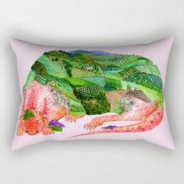 Chianti Landscape Dragon Rectangular Pillow