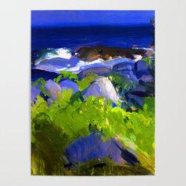 George Bellows Monhegan Island Poster