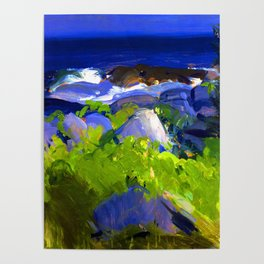 George Bellows Monhegan Island Poster