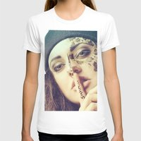 makeup T-shirts featuring Creative MakeUp 2 by - artlightphotography -