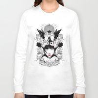 witchcraft Long Sleeve T-shirts featuring Witchcraft by Sergio Saucedo