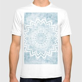 LIGHT BLUE MANDALA SAVANAH T-shirt