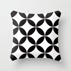 Geometric pattern (circles) Throw Pillow