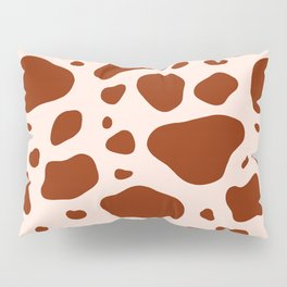 How Now Brown Cow Pillow Sham