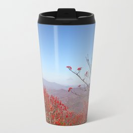 Red Berries, Autumn Colors Travel Mug