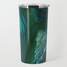 Fractal Abyss Sea Travel Mug