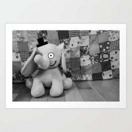The Sophisticated Stuffy Art Print
