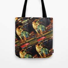 Paper Dog Tote Bag