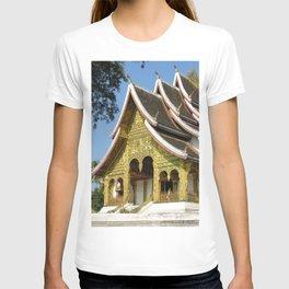 Golden Buddhist Temple, Luang Prabang, Laos T-shirt