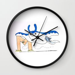 M is for Mantine Wall Clock