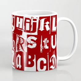 Ransom Letters Coffee Mug