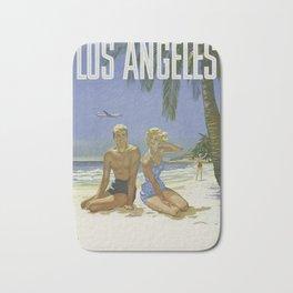 Los Angeles Santa Monica Bath Mat