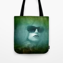 emerging from the shadow -3- Tote Bag