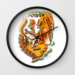Multiple Personalities Wall Clock