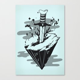Releasing Dark Matter Canvas Print