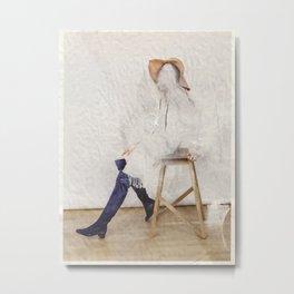 headless model No.01 Metal Print