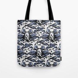 Birds Flat Tote Bag