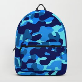 Camouflage (Blue) Backpack