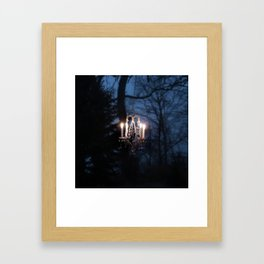 Chandelier in the Wild Framed Art Print