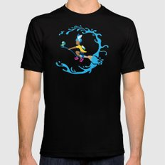 Inkling Delivery Service Black SMALL Mens Fitted Tee
