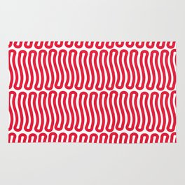 Super Red Strawberry Laces Rug