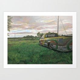 Winner Art Print