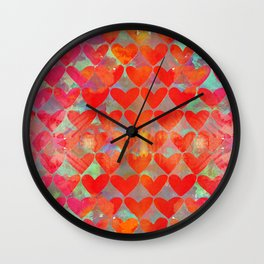 Love Overload Wall Clock