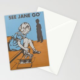 See Jane Go Stationery Cards