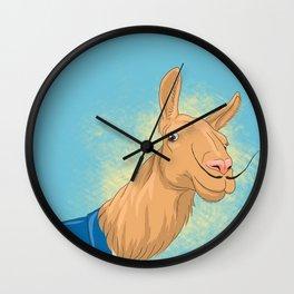Dali Llama Wall Clock