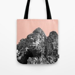 Part of Angkor Wat with beige Tote Bag