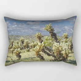 Cactus called teddy bear cholla No.0265 Rectangular Pillow