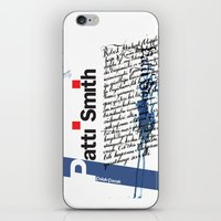 calligraphy iPhone & iPod Skins featuring Calligraphy 2 by omerfarukciftci