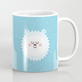 Sleeping Polar Bear Coffee Mug