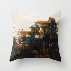 The City Throw Pillow