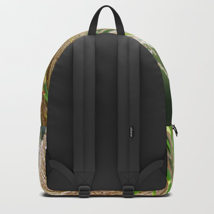 Peaceful Wild Grass Backpack