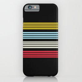 Kazan - Classic Retro Design Stripes iPhone Case