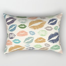 Lips 16 Rectangular Pillow