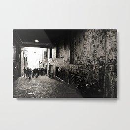 Gum Wall, Seattle, WA Metal Print