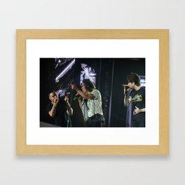 Harry Styles.Liam Payne.Zayn Malik Framed Art Print