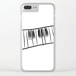 Tickle the ivory's Clear iPhone Case