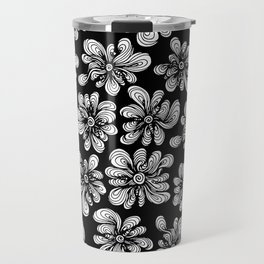 Strange Garden in the Night Travel Mug