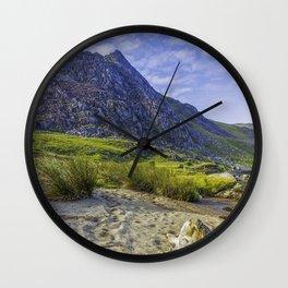 Tryfan Mountain Wall Clock