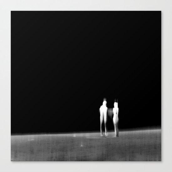 Look into the Unknown - VACANCY zine  Canvas Print