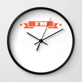 Weightlifting Shut Up I'm Lifting Weight Lifter Fitness Wall Clock