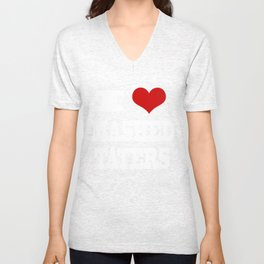 I Heart Mashed Taters Unisex V-Neck